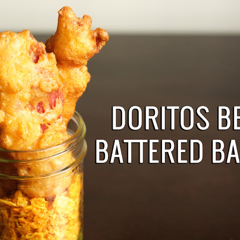 Nacho Doritos Beer Battered Bacon