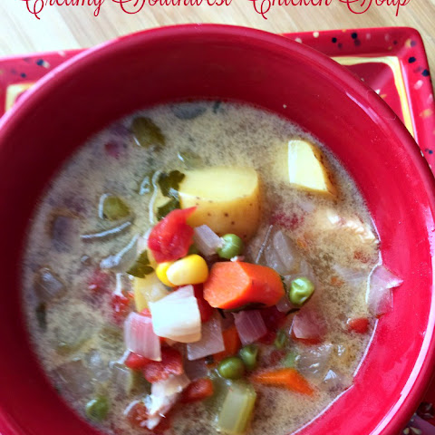 Creamy Southwest Chicken Soup