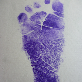 stamp babys foot  by Rahmat Nugroho - Babies & Children Hands & Feet ( tiny, watercolor, toe, birth, person, foot, feetpainting, infant, little, footprint, kid, colour, child, playing, certificate, girl, baby, toddler, watercolour, bare, barefoot, stamp, isolated, art, white, paint, fun, young, print, newborn, human, s, color, blue, walk, small, step )