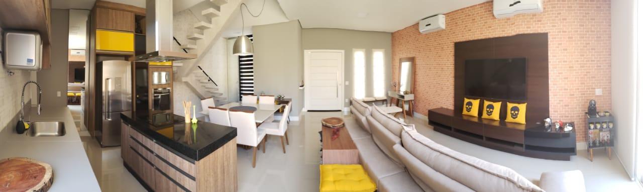 Excelente casa com 3 dormitórios à venda, 115 m² por R$ 563.000 - Jardim Montreal Residence - Indaiatuba/SP