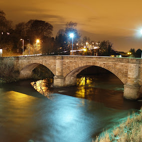 Garrion Bridge by Tommy  Cochrane - Buildings & Architecture Bridges & Suspended Structures ( scotland, clyde, bridge, garrion, river )