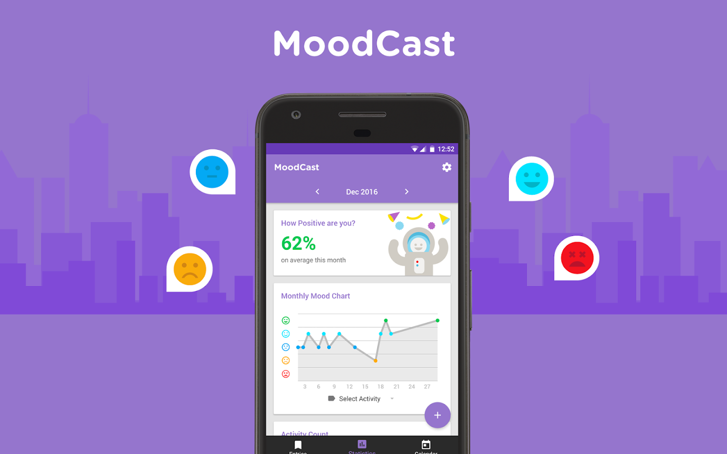 MoodCast Diary - Mood Tracker Screenshot 8