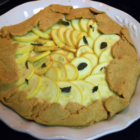 Summer Squash and Herb Galette