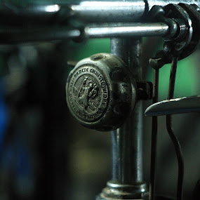 The Old bike's bell by Didik Rasidi - Products & Objects Industrial Objects ( old, bike, indonesia, helios, exhibition, pwcbells, manual lens )