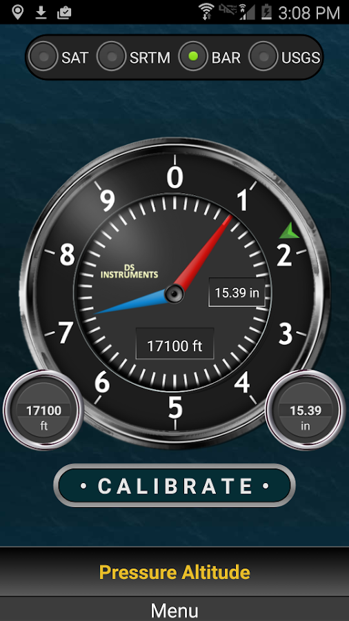DS Altimeter Screenshot 2