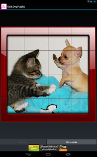 Cat and Dog Puzzles - screenshot