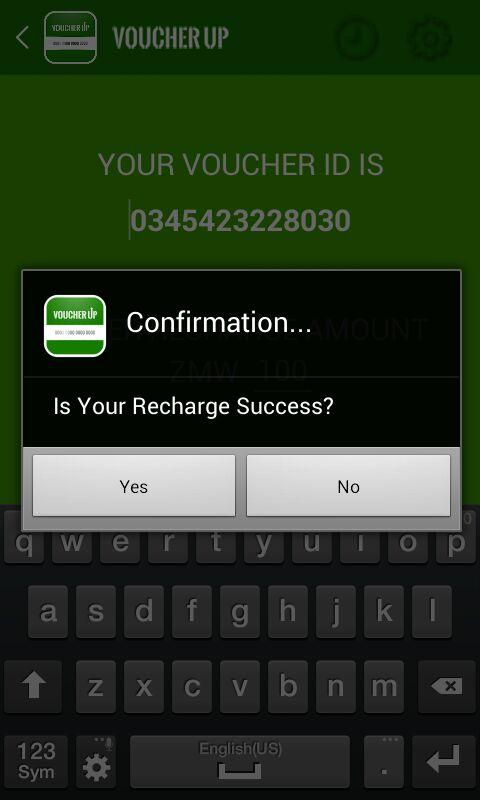 Voucher Up Screenshot 3