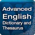 App Advanced English & Thesaurus version 2015 APK