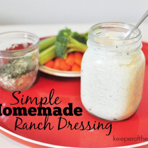 Homemade Ranch Dressing Spice Mix
