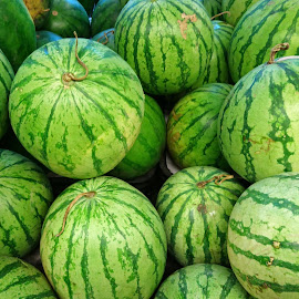 Water Melon by Mulawardi Sutanto - Food & Drink Fruits & Vegetables ( semangka, fruit, buah, indonesia, watermelon, travel )