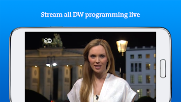 Screenshot of DW - Breaking World News