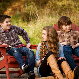 Cousins by Cristi Garza - People Family