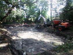 Photo 1 / 2 - November 2016 Pond Scrape and Restoration, Morden