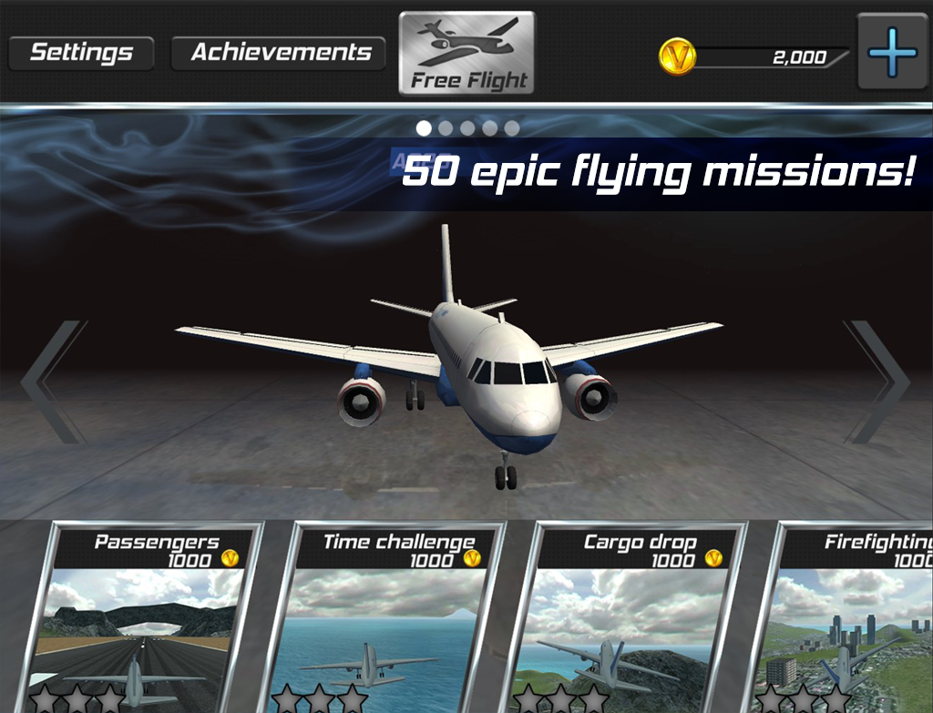Real Pilot Flight Simulator 3D Screenshot 13