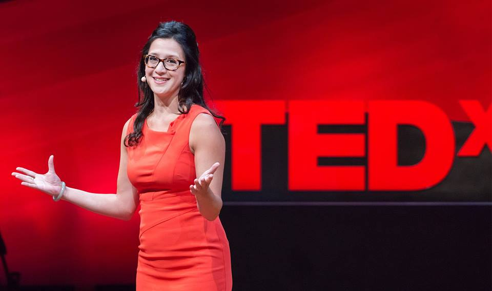 "Terri's first TEDx talk, Stop Searching for Your Passion"" has earned 2.5 million views"