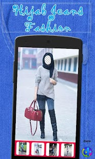 Hijab jeans Fashion - screenshot