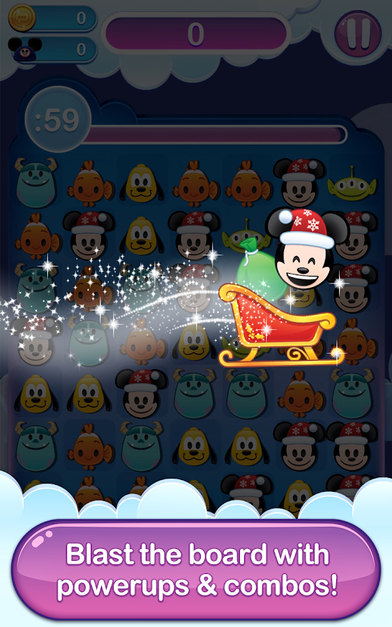 Disney Emoji Blitz Screenshot 2
