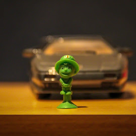 Little green man by Andrei Andrei - Novices Only Objects & Still Life ( green, greenman, little, photo, man )