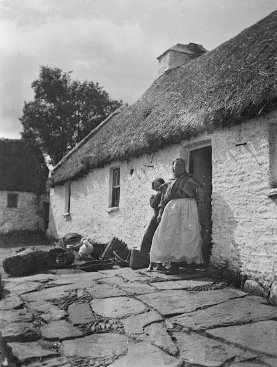 Philly and Margaret Harris's cottage in Mountain Stage, Co. Kerry, where Synge stayed on his visits.