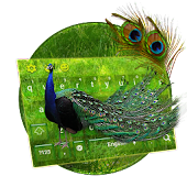 Download Peacock Feather Keyboard APK on PC