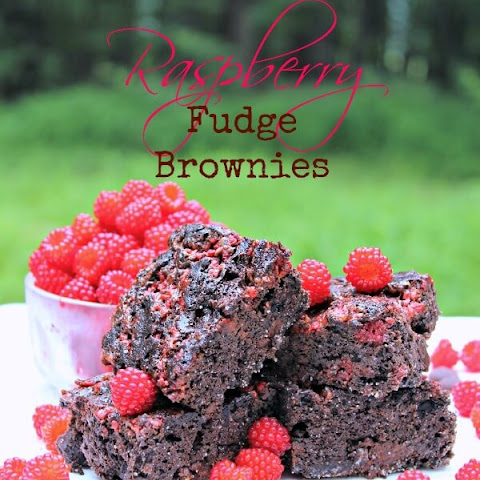 Raspberry Fudge Brownies (Grain, Dairy, Nut Free)