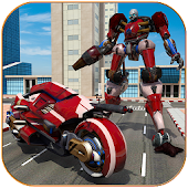 Game Moto Robot Transformation apk for kindle fire