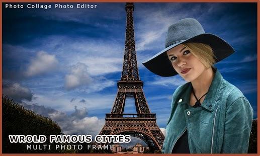 Famous Places Photo Frame - screenshot
