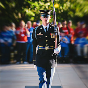 Honor by Bryan Snider - People Street & Candids ( arlington, tomb, honor, the old guard, cemetery, infantry, 3rd, regiment, u.s., military, army, washington, soldier, guard, honor guard, washington dc, unknown soldier,  )