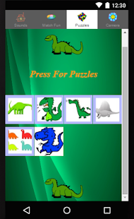 Dinosaur Games For Children - screenshot
