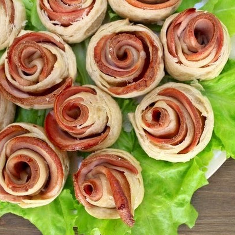 Roses Puff Pastry
