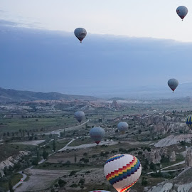 turkey by Haddouchi Tarik - Landscapes Mountains & Hills ( picture, baloon, sunrise, turkey, photo )