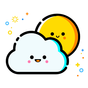 Smiling Weather Icons Set for Chronus for Android