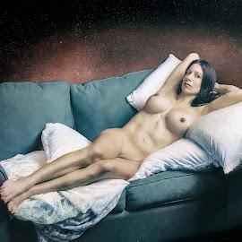 La Maja Desnuda Modern by Kelley Hurwitz Ahr - Digital Art People