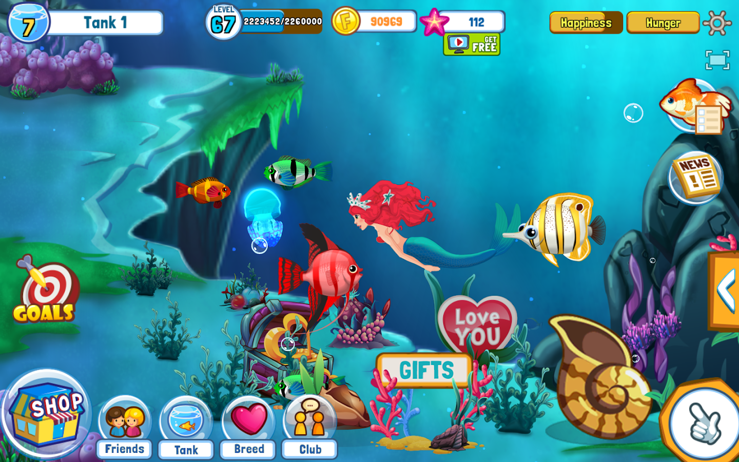 Fish Adventure Seasons Screenshot 2
