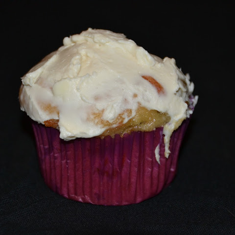 Maple Carrot Cake Muffins