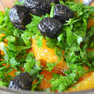 Moroccan Orange And Black Olive Salad Recipes