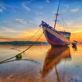 .:: shiny day ::. by Setyawan B. Prasodjo - Transportation Boats