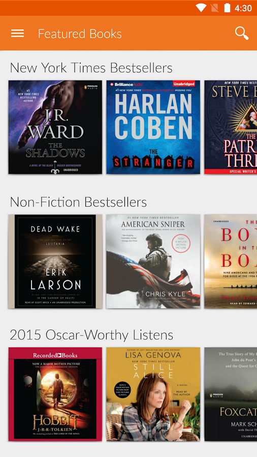 Audio Books by Audiobooks Screenshot 1