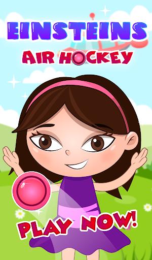 Einsteins air hockey