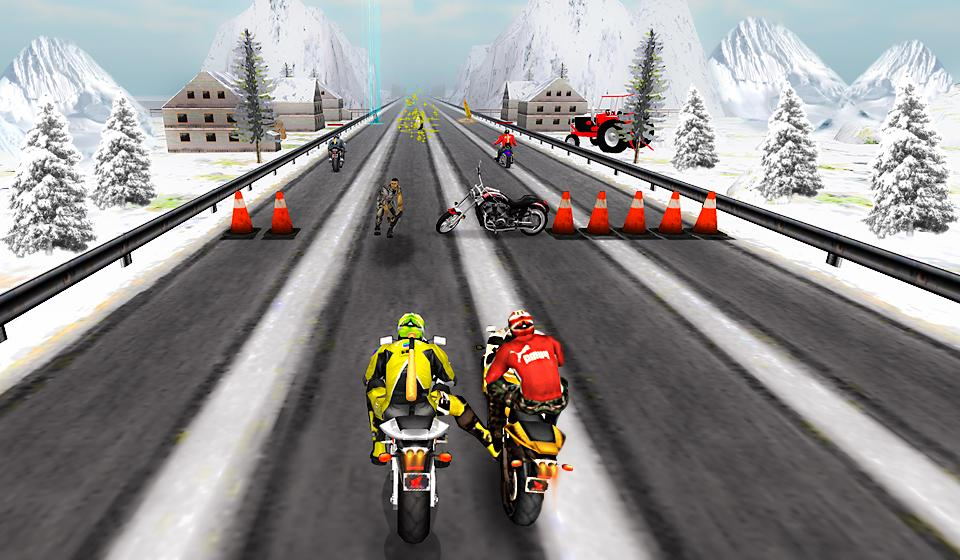 Bike Attack Race : Stunt Rider Screenshot 3
