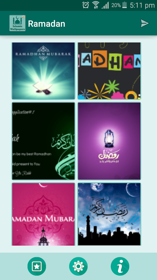 Islamic Wallpapers Ramadan Pro Screenshot 3