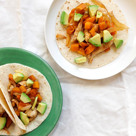 Chicken Butternut Squash Tacos