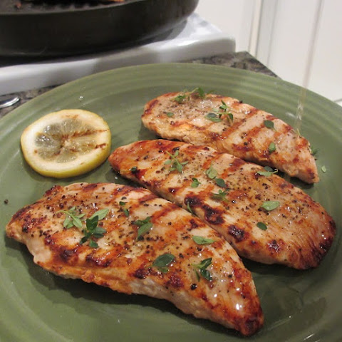 Grilled Turkey Cutlets