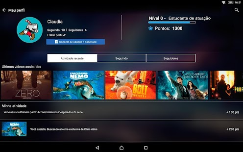 Claro video APK for Bluestacks