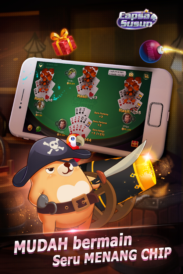 Capsa Susun(Free Poker Casino) Screenshot 9
