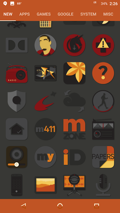 Desaturate Icon Pack Screenshot 11