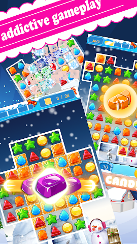 android noël bonbons saga Screenshot 2