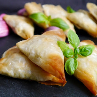Phyllo Feta Cheese Triangles Recipes