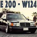 Game W124 E200 Drift Car APK for Kindle