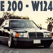 W124 E200 Drift Car